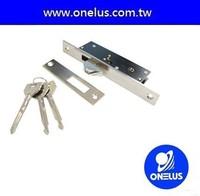 2015 Taiwan factory direct security cross key door lock