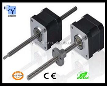 Threaded shaft stepper motor nema 17 buy threaded nema for Threaded shaft stepper motor