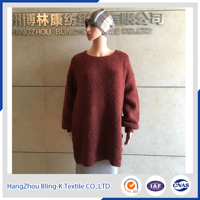 2016Latest Loop Yarn Knitted Sweater for Women/Ladies