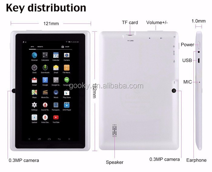9 inch cheap a33 firmware android pc tablet 8gb ram china supplier