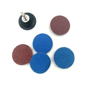 60 Pieces Sanding Discs Set 2 inches Quick Change Disc with 1/4 inch Tray  Holder