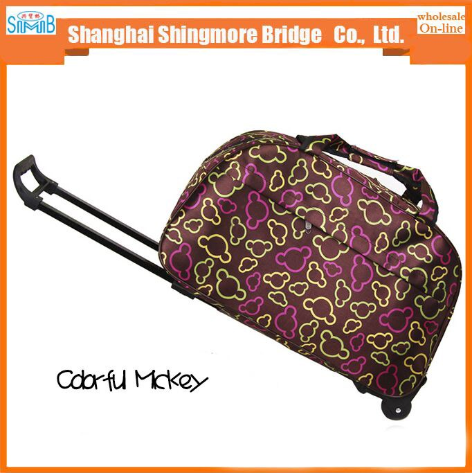 2017 china hot sales good quality waterproof travel bag luggage for outdoor
