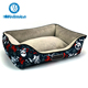 New Fashioned Graffiti Pattern Luxury Pet Bed For Dog,Comfortable Dog Bed
