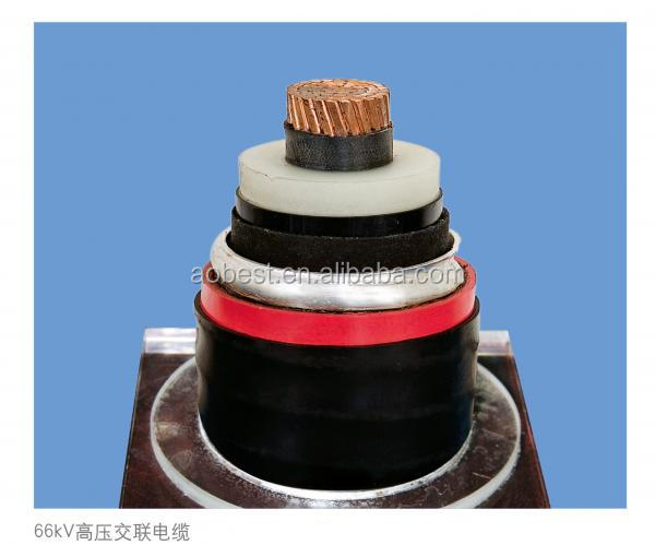 Single Core XLPE Insulated Copper Tape Shield Steel Tape Armored Cable