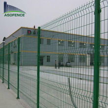 5mm 75mm* 75mm triangle bending wire mesh fence / curvy welded mesh fence with best quality ( factory & ISO9001)