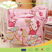 BBS827A printed luxury comforter sets king baby girl toddler bedding set