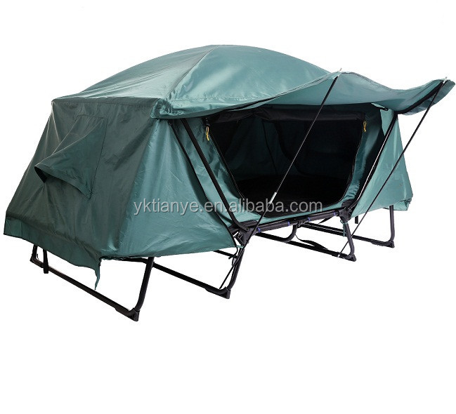 Wholesale Outdoor Waterproof 1-2 Person double layer Polyester Large Camping Tent
