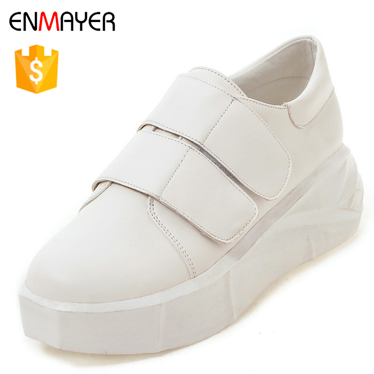 2017 cheap new style girl all match black white casual shoes