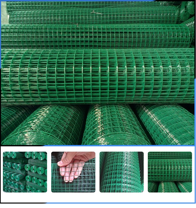 factory price welded wire mesh fence rolls for bird cage