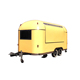 Moving fast food Ice cream street food kiosk cart trailer price for sale
