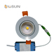 Dimmable 7W Recessed Ceiling LED Spot Light Fixture 7 watts COB LED Downlight Warm white