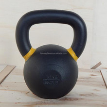 Wholesale Top grade power coated kettlebell for weight lifting price