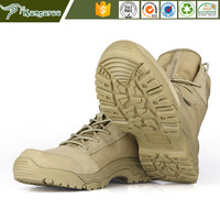 KMB20 Carmy British Army Beige Military Desert Boots