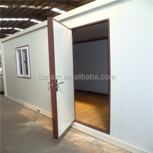 low cost prefab living flat pack container house for sale