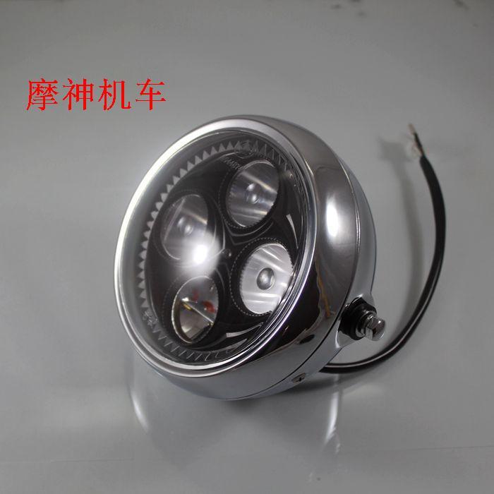 Vintage Motorcycle Headlights 29