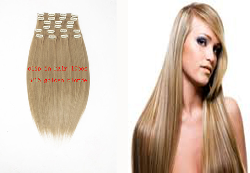 Buy Hair Extensions Clip In Color 10pc 18quot140g 20quot 150g