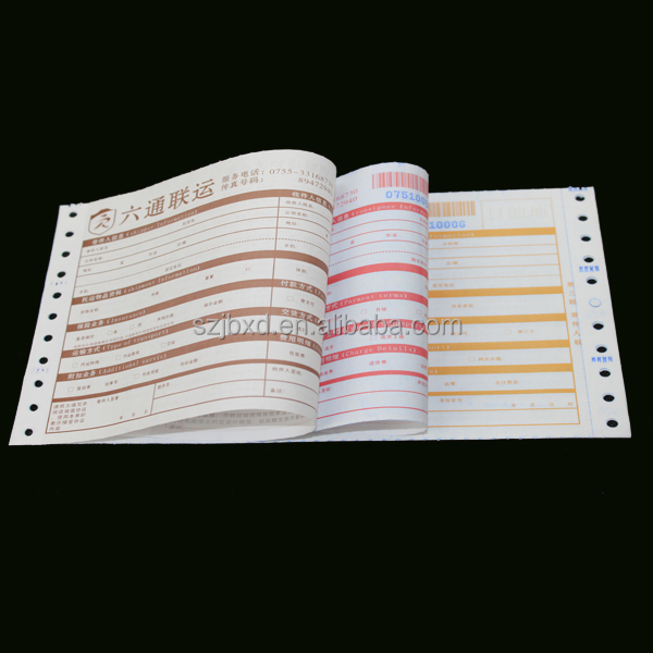 Custom NCR Carbonless Paper&Express,Courier,Air Waybill Printing Service