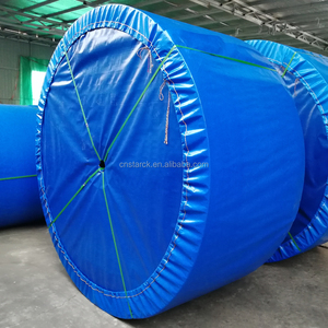 Flame retardant whole core1250S*1000 PVC PVG fabric type rough top rubber conveyer belts for coal mine
