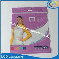 Custom ziplock bag reusable vacuum bag used for clothing or houseware