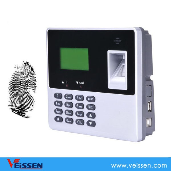 Fingerprint time attendance requiring no software