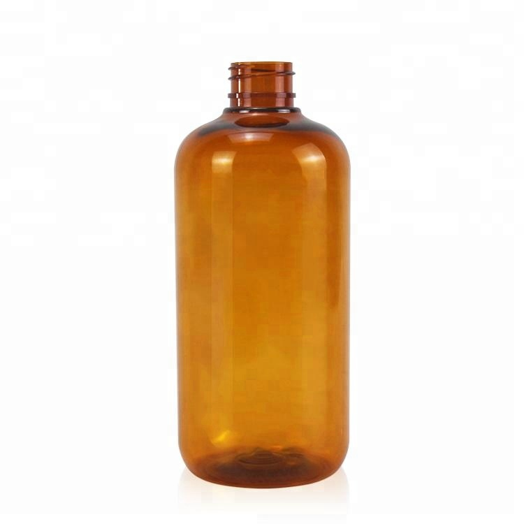 500ml Personal Care Cosmetic Plastic Facial Bottle pet