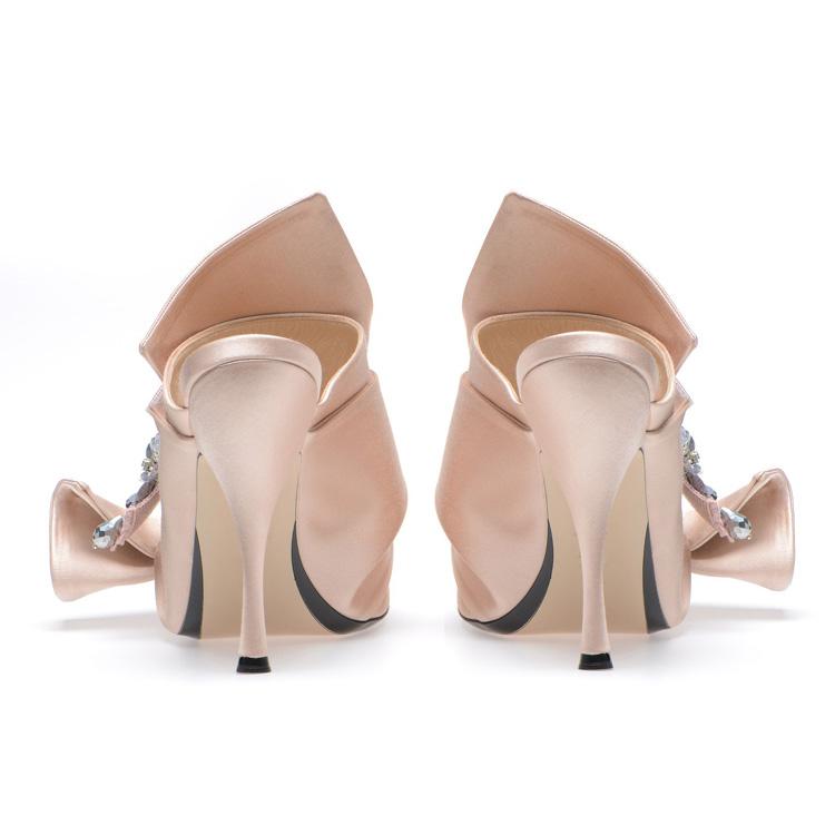 toe diamond style ladies new heel slipper high webbing shoes 2018 peep qtEXxw
