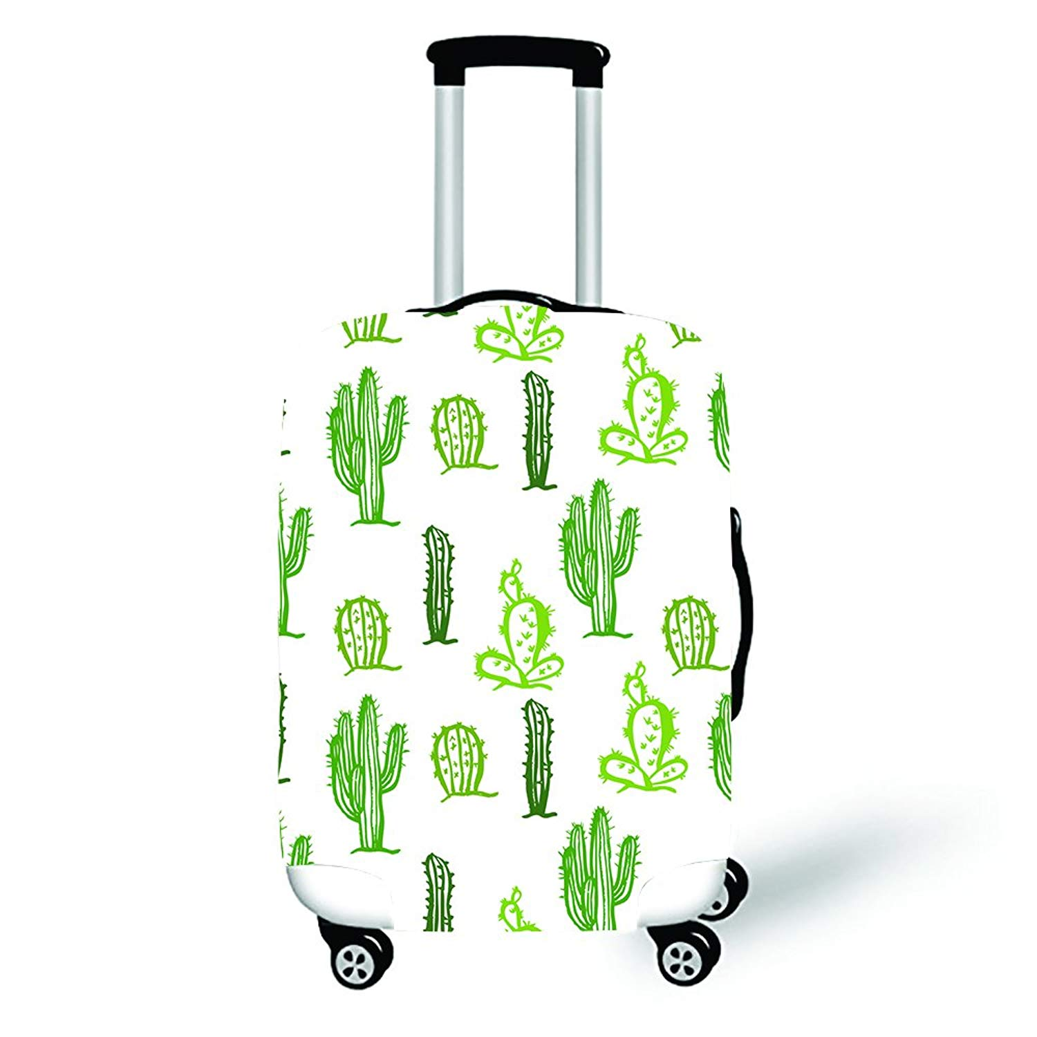 Pinbeam Luggage Cover Building Greek Doric Temple Pillar Architecture Column Front Travel Suitcase Cover Protector Baggage Case Fits 26-28 inches