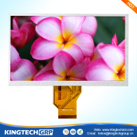 50 pin 7 inch auto screens wifi ad vga lcd monitor rgb