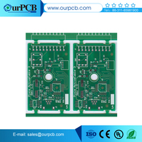 Reflow PCB low cost electronic ballast