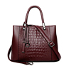 Factory high quality crocodile handbag branded bags tote with price