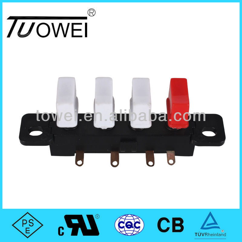 Table Fan 4 key Push Button Switches