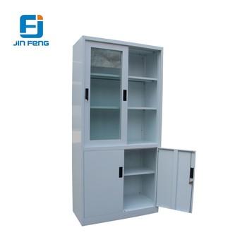 Sliding Gl Door Cabinet Steel