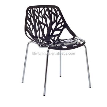 Del Sillas Pp De Bosque Con Buy Árbol Comedor Rama Apilable Patas Silla Pp silla Plástico Acero fg6Ib7ymYv