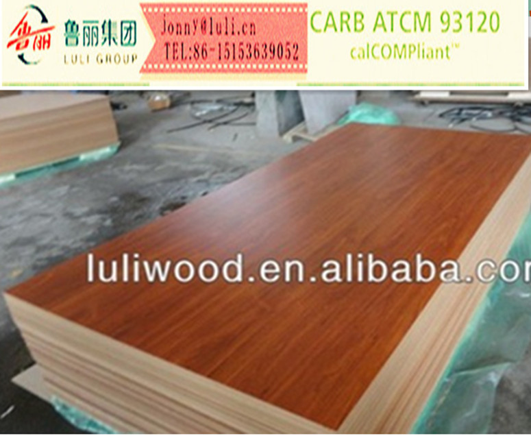 different colors melanine paper face mdf with best price from manufacture