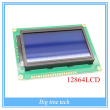128x64 Dots Graphic Blue Color Backlight LCD Display Module Controller 12864LCD A309