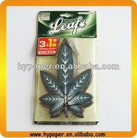 maple Leaf shape and long lasting scent paper air freshener with paper card
