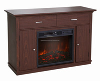"Cherry 48"" Media Fireplace for TV's up to 55"" Expresso"