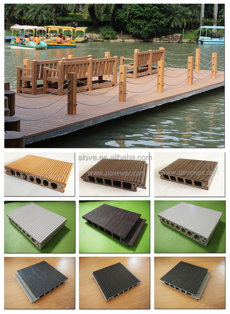 Wpc pvc terrasse tanche rev tement de sol en plein air deck tage couvrant c - Rendre une terrasse etanche ...