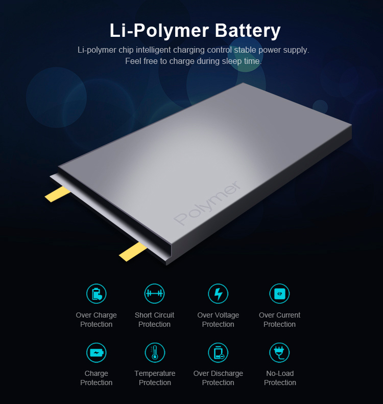 2019 unique  PD 3.0 Type C 18W speed quick charge power bank 10000 mAh with digital display