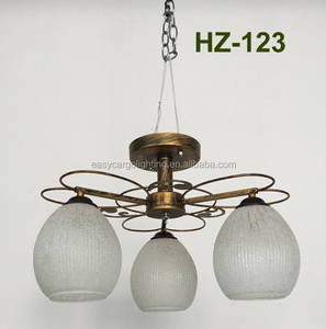 New arrival Russian style chandelier bronze colored iron Chandelier ,simple style Chandelier HZ-123/3P