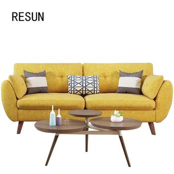 Resun Arias Living Room Furniture Yellow Sofa Set Arabic Majlis Uk Sofas Product On