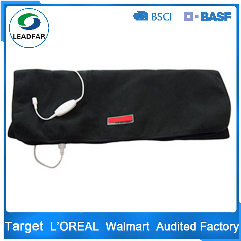 portable fold up picnic electric infared heating fleece blanket