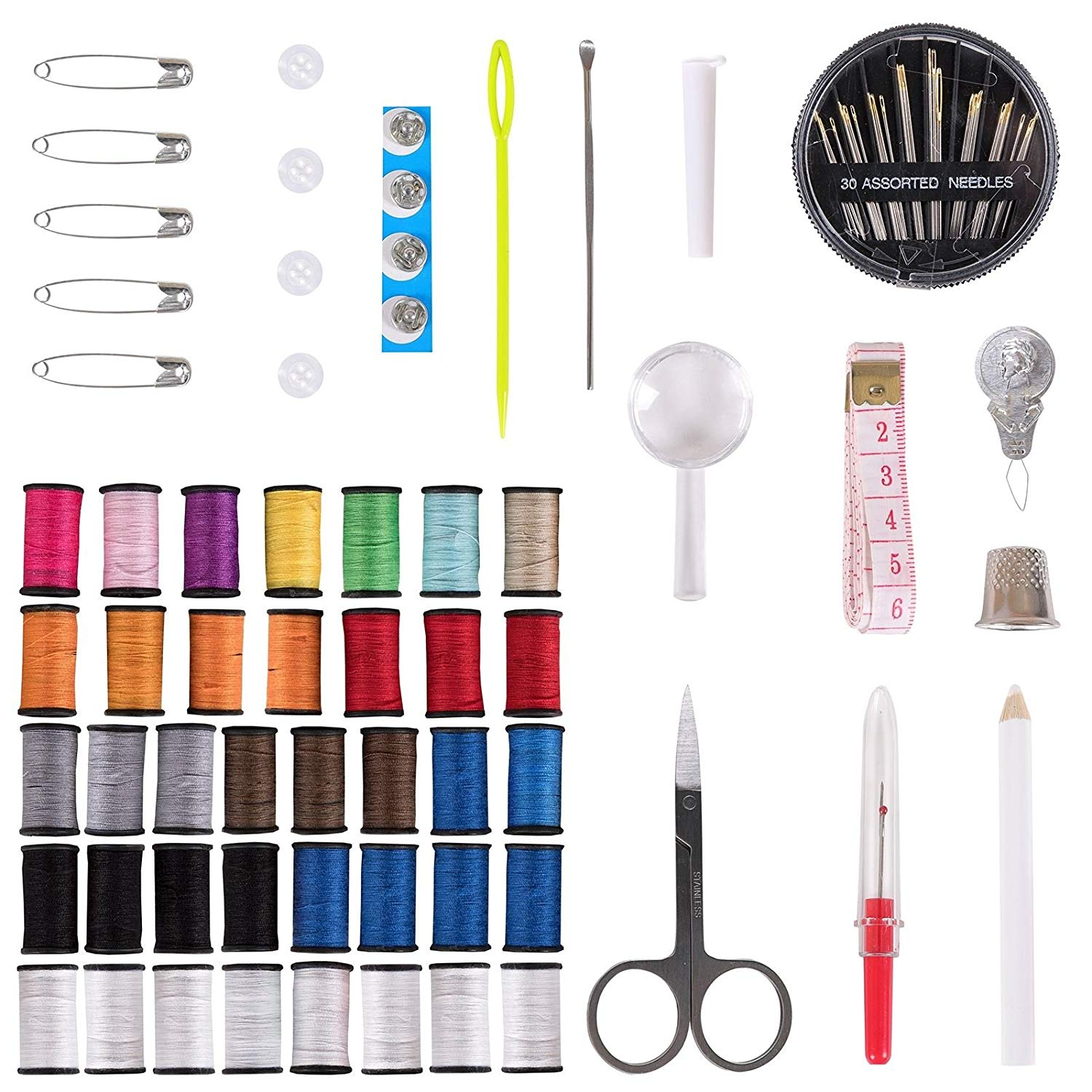 Generic nal Sewing Stitching Travel ional Se Thread Hand Professiona Professional Sewing Kit ead Hand S Craft Home Craft Set Home Home Craft