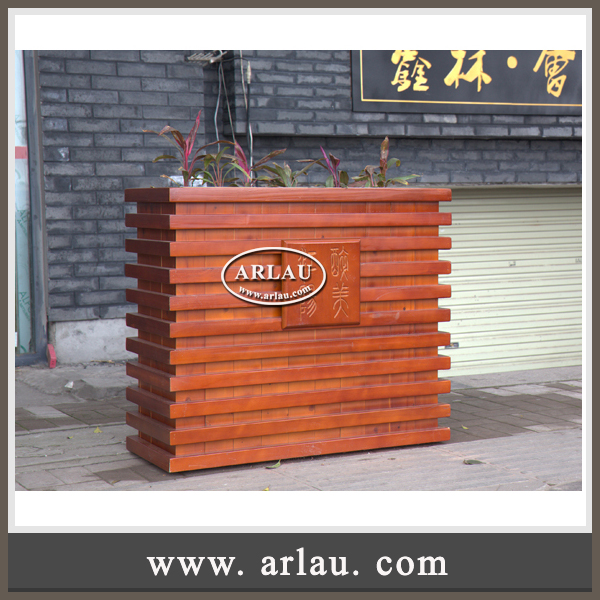 Arlau White Color Tall Planter, Garden Basket, Corten Steel Irregular Metal Planter