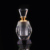 Vintage Egyptian perfume bottle empty refillable crystal perfume bottle screw cap top cover mini perfume bottle crystal
