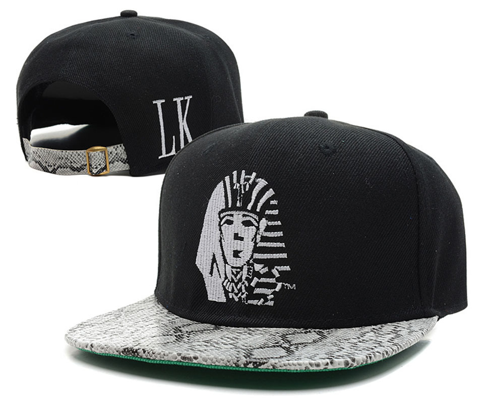 Get Quotations · HOT 2015 snakeskin Last Kings Snapback hats for men women  swag fashion summer hat bones snap 176133e84