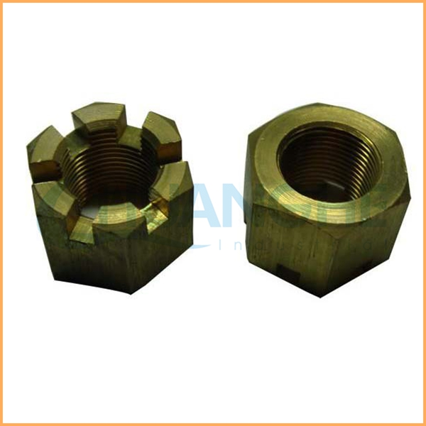 China suppliers manufacture din979 hex thin slotted nut