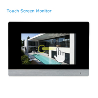 China Manufacturer 4 Wire Door Entry Video Intercom System For Villa