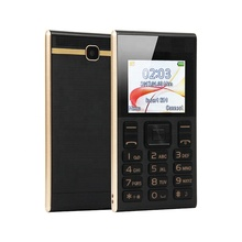 1.77 inch screen Dual SIM card iCard <span class=keywords><strong>K2</strong></span> Ultra Slim card size mobile phone