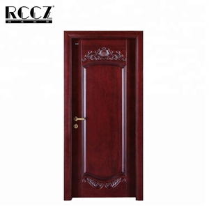 indoor cheap price bedroom wooden door designs